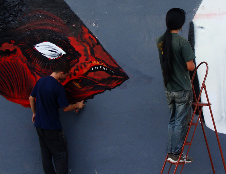 Musta & Nick in process_1