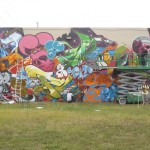 Ironlak wall getting busy.